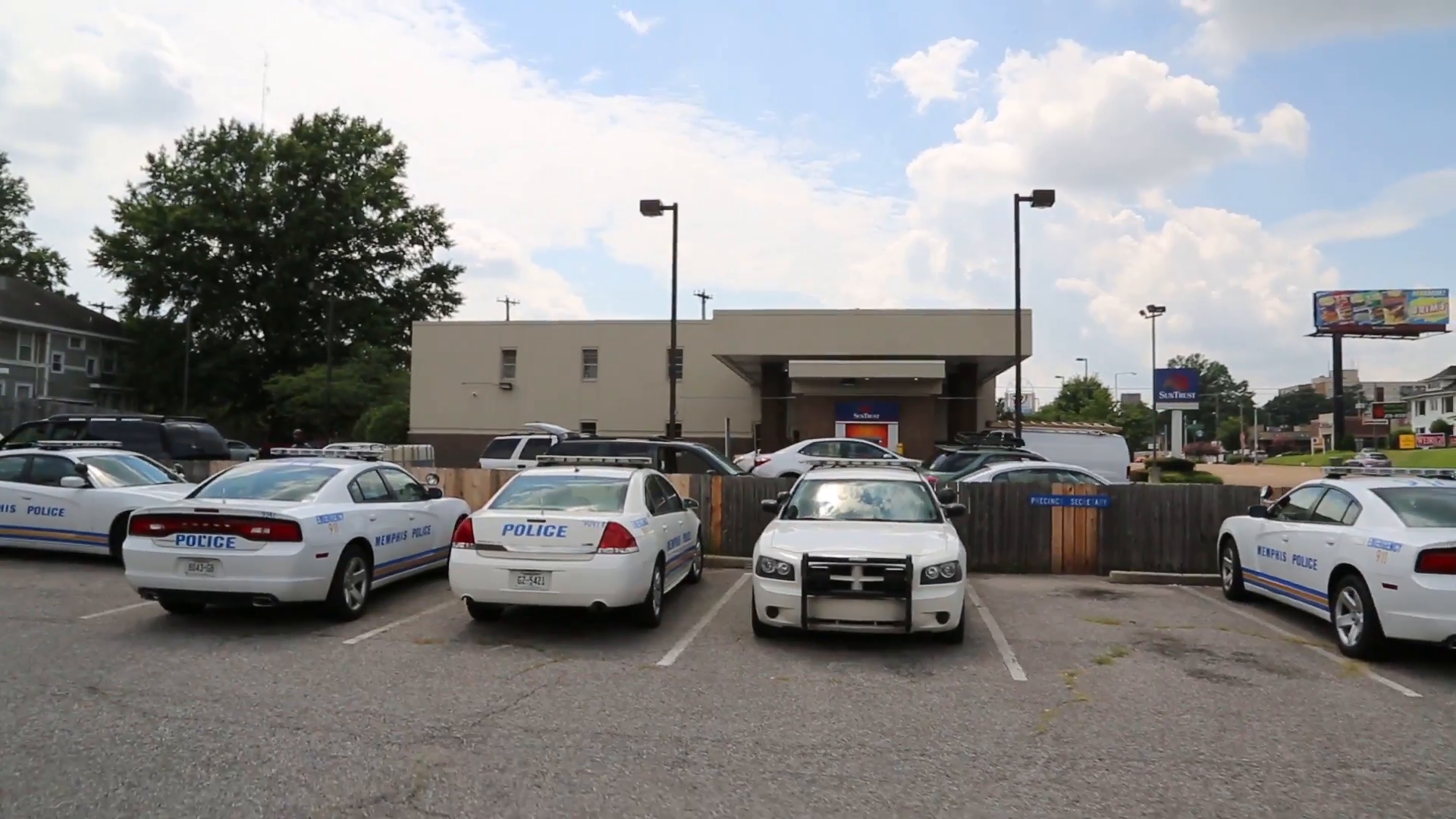 Memphis Police department parking lot full of cars Stock Video Footage -  VideoBlocks - Parking Lot PNG HD
