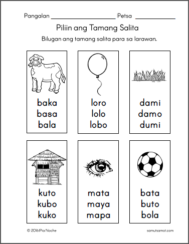 Parts Of The Body For Kids PNG Tagalog - 59281