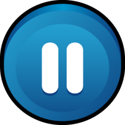 Button Pause Icon - Pause Button PNG