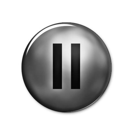 Pause Button Transparent PNG - Pause Button PNG
