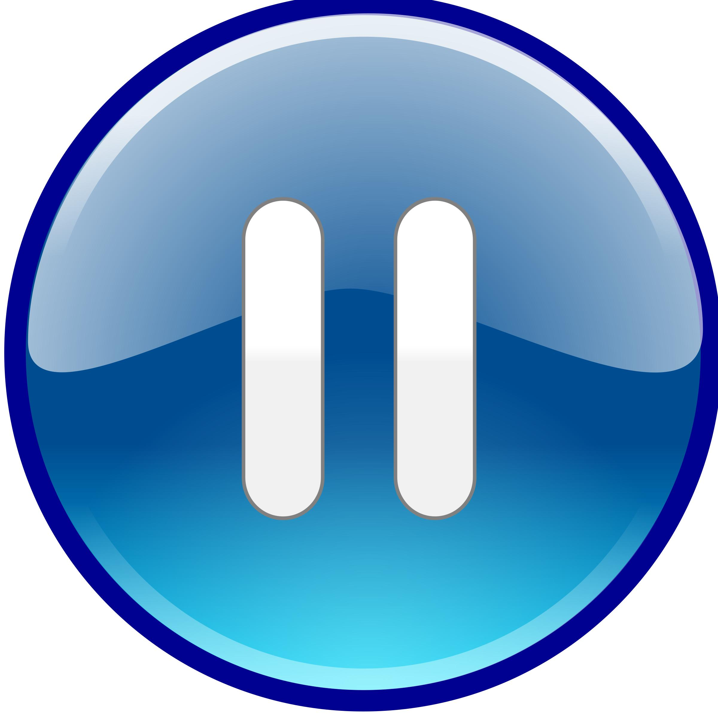 Windows Media Player Pause Button - Pause Button PNG