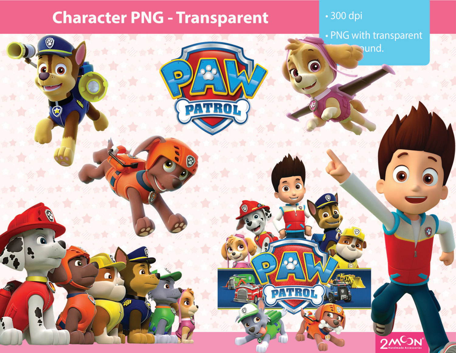 78 Awesome paw patrol clip art - Paw Patrol Birthday PNG