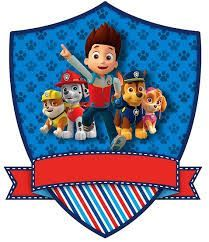 Paw Patrol Pre-filled Party B
