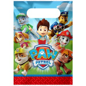 Paw Patrol Pre-filled Party Bag Kit - Paw Patrol Birthday PNG