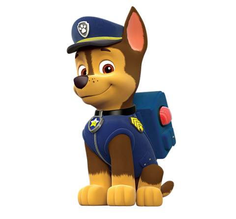 paw patrol chase | paw-patrol-chase-character-main-550x510. - Paw Patrol PNG HD