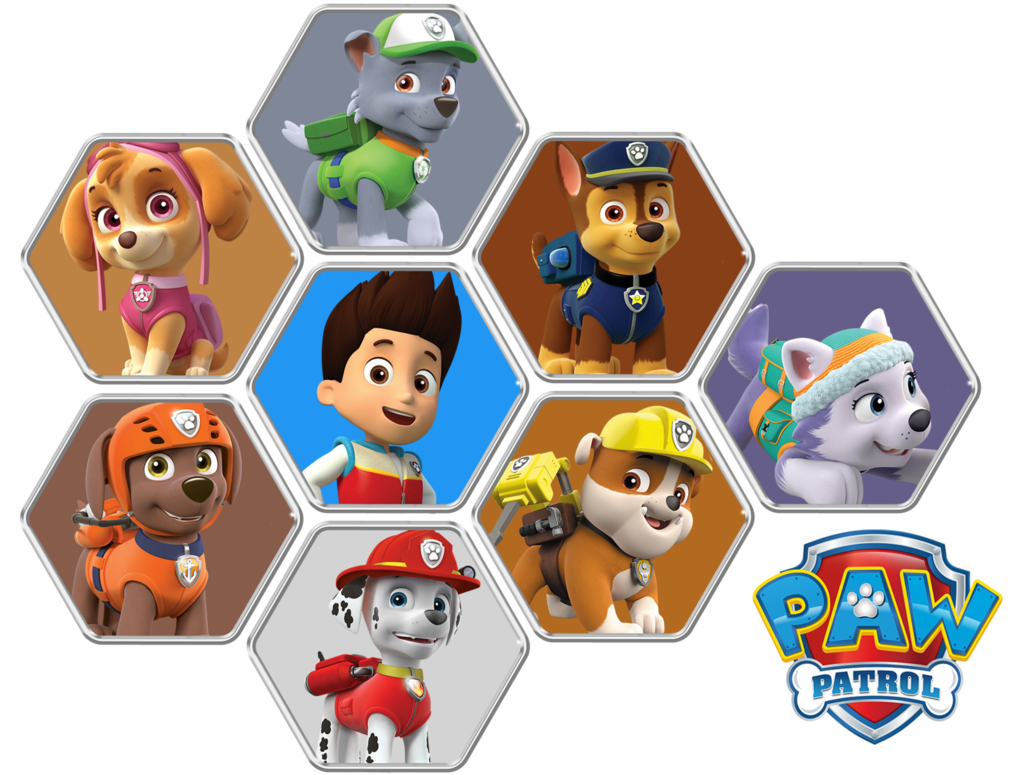 Paw Patrol (Honeycomb) by GGalleonAlliance PlusPng.com  - Paw Patrol PNG HD