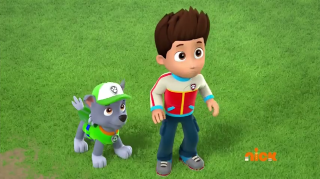 File:PAW Patrol Pups Save a Lucky Collar Ryder Rocky.PNG - Paw Patrol Ryder PNG