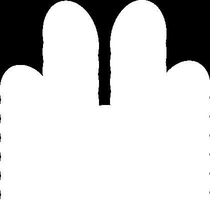 File:White paw print.png - Paw PNG HD