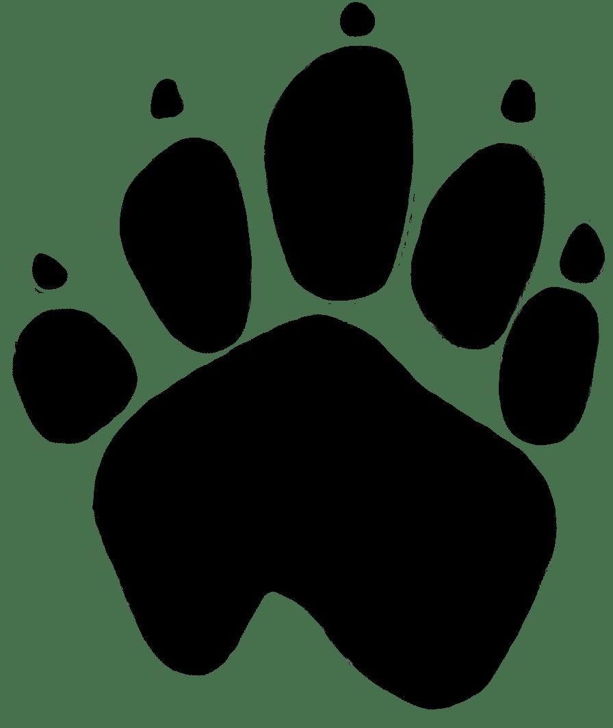 Kangaroo Paw Print - Paw PNG HD