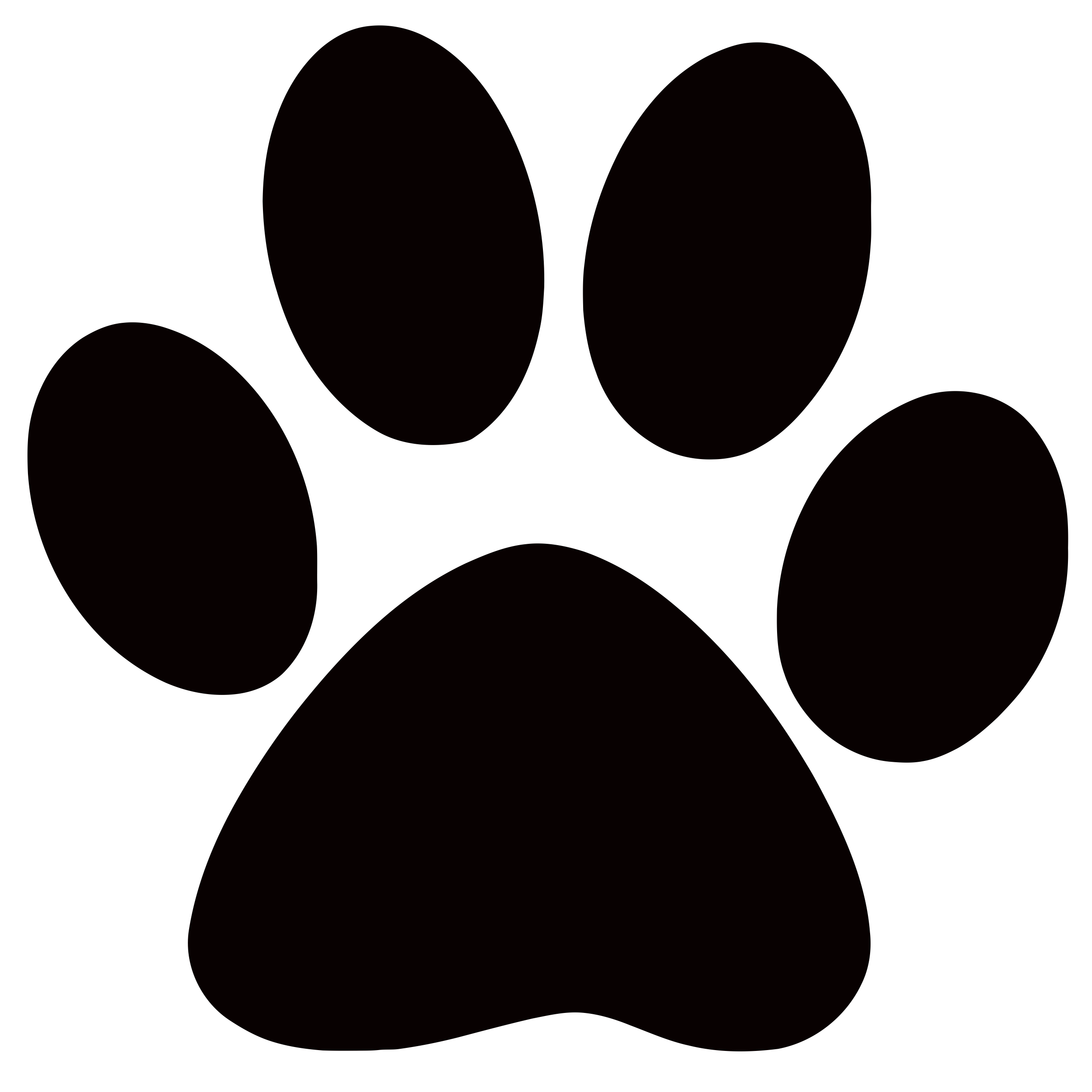 Large Prints Of Tiger Paws - Clipart library - PNG Tiger Paw - Paw PNG HD