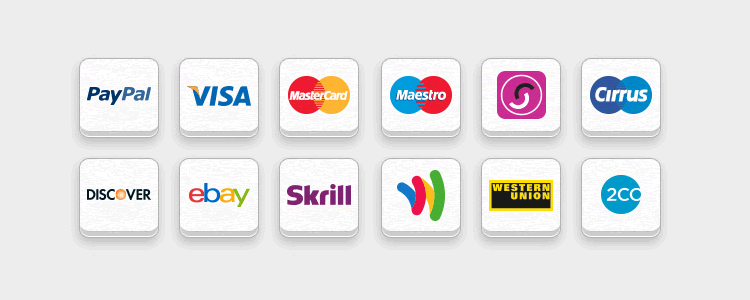 Free Online Payment Icon Set psd png - Payment Method PNG