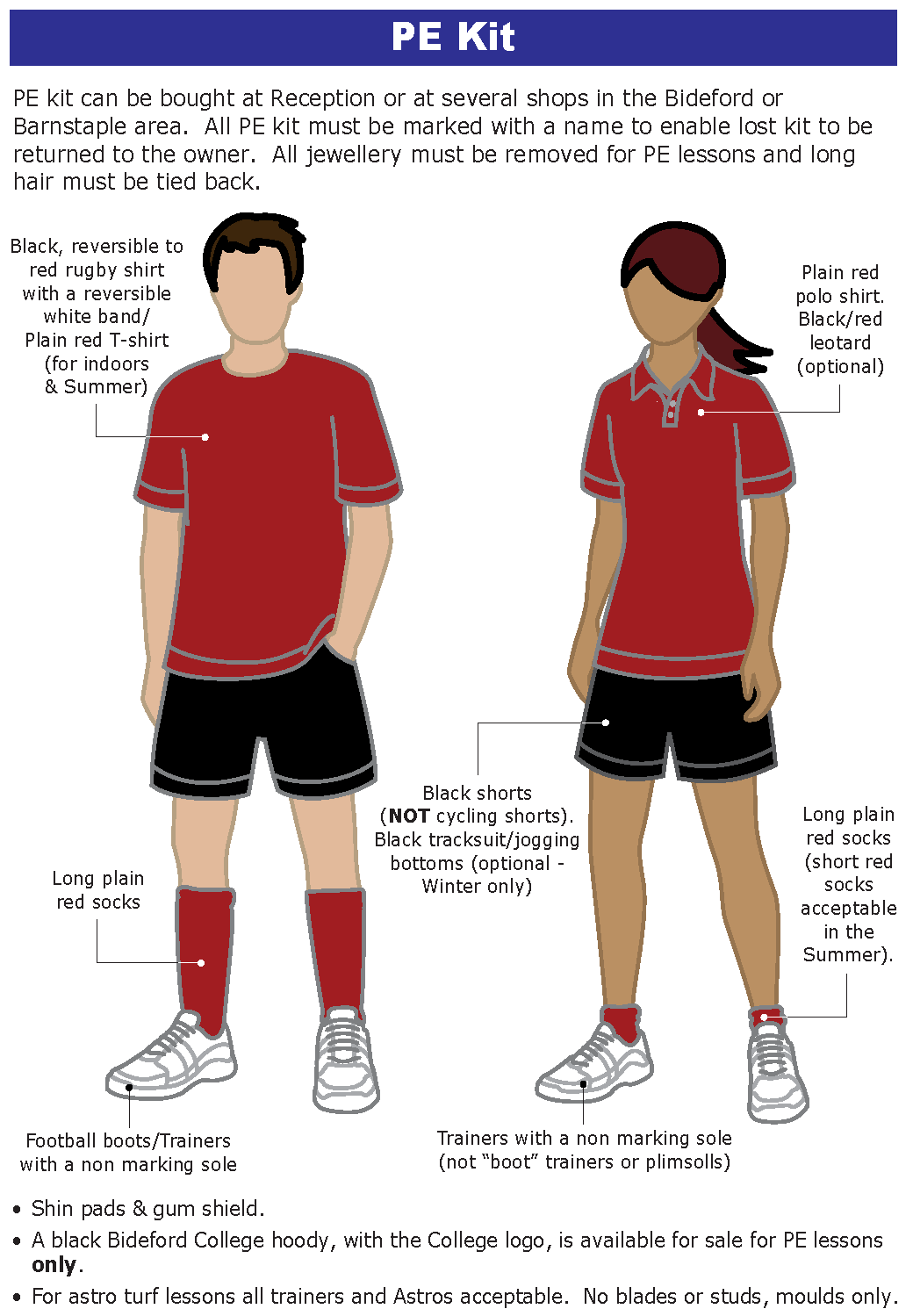 Uniform PE - Pe Kit PNG