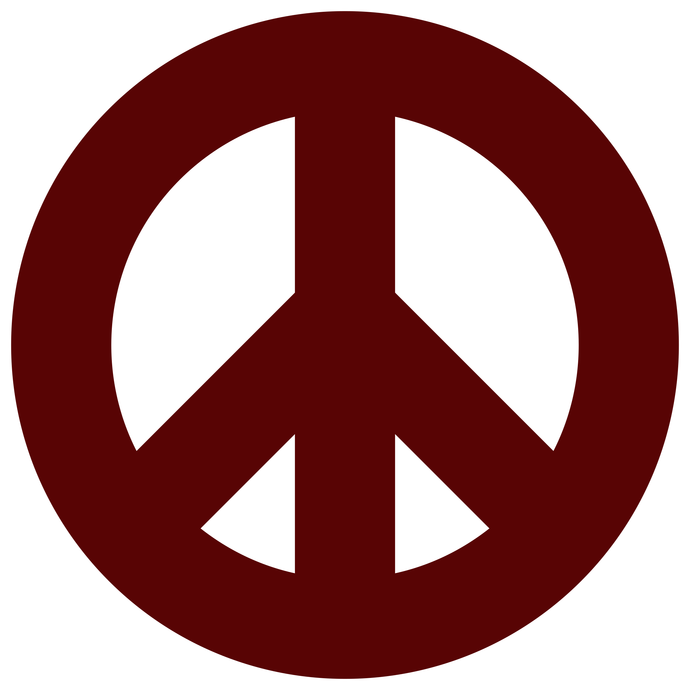 BIG IMAGE (PNG) - Peace Symbo PNG