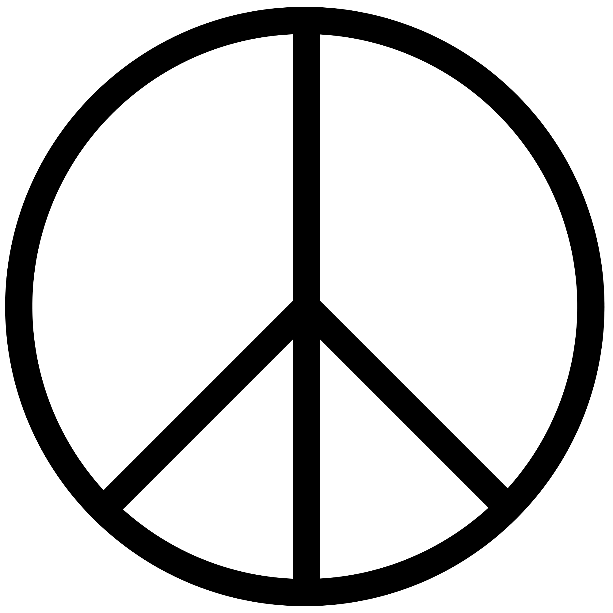 U 262E.svg - Peace Symbo PNG