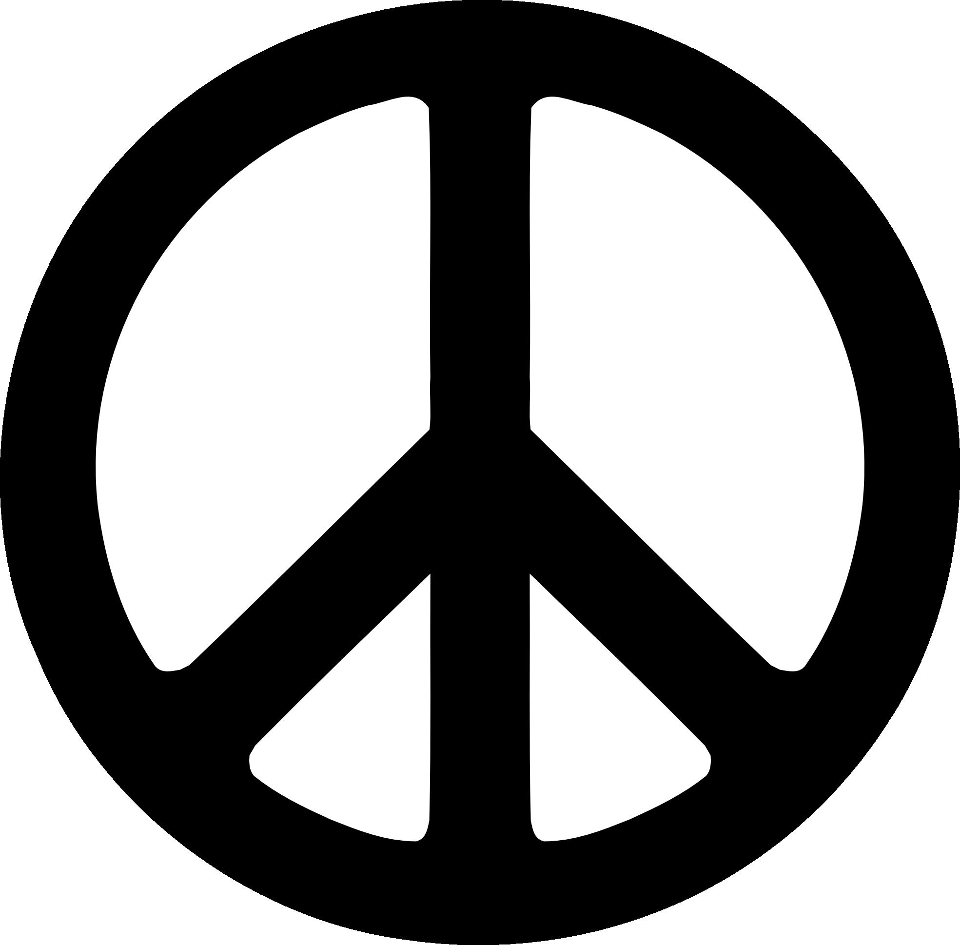 . PlusPng.com Black Peace Symbol Fav Wall Paper Background 1969px.png 109(K) PlusPng.com  - Peace Symbol PNG