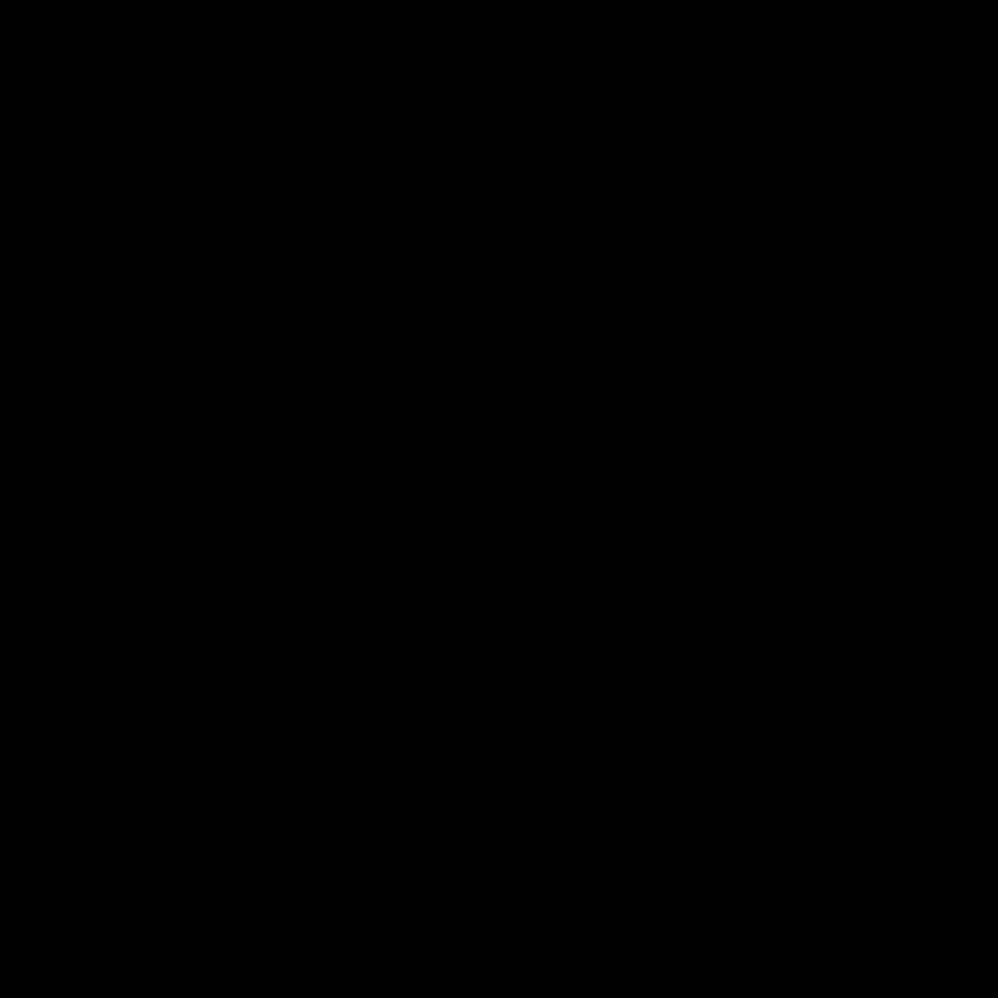 Peace Symbol Black - Peace Symbol PNG