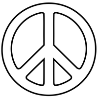 Peace Symbol PNG - 27578