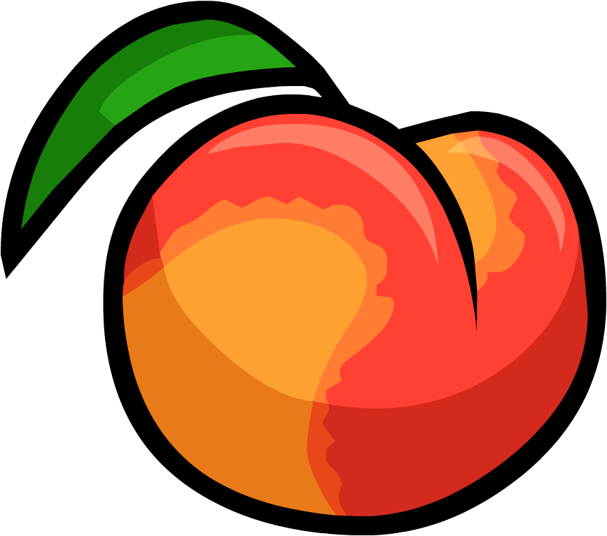 Image - Smoothie Smash Peach.png | Club Penguin Wiki | FANDOM powered by  Wikia - Peach PNG