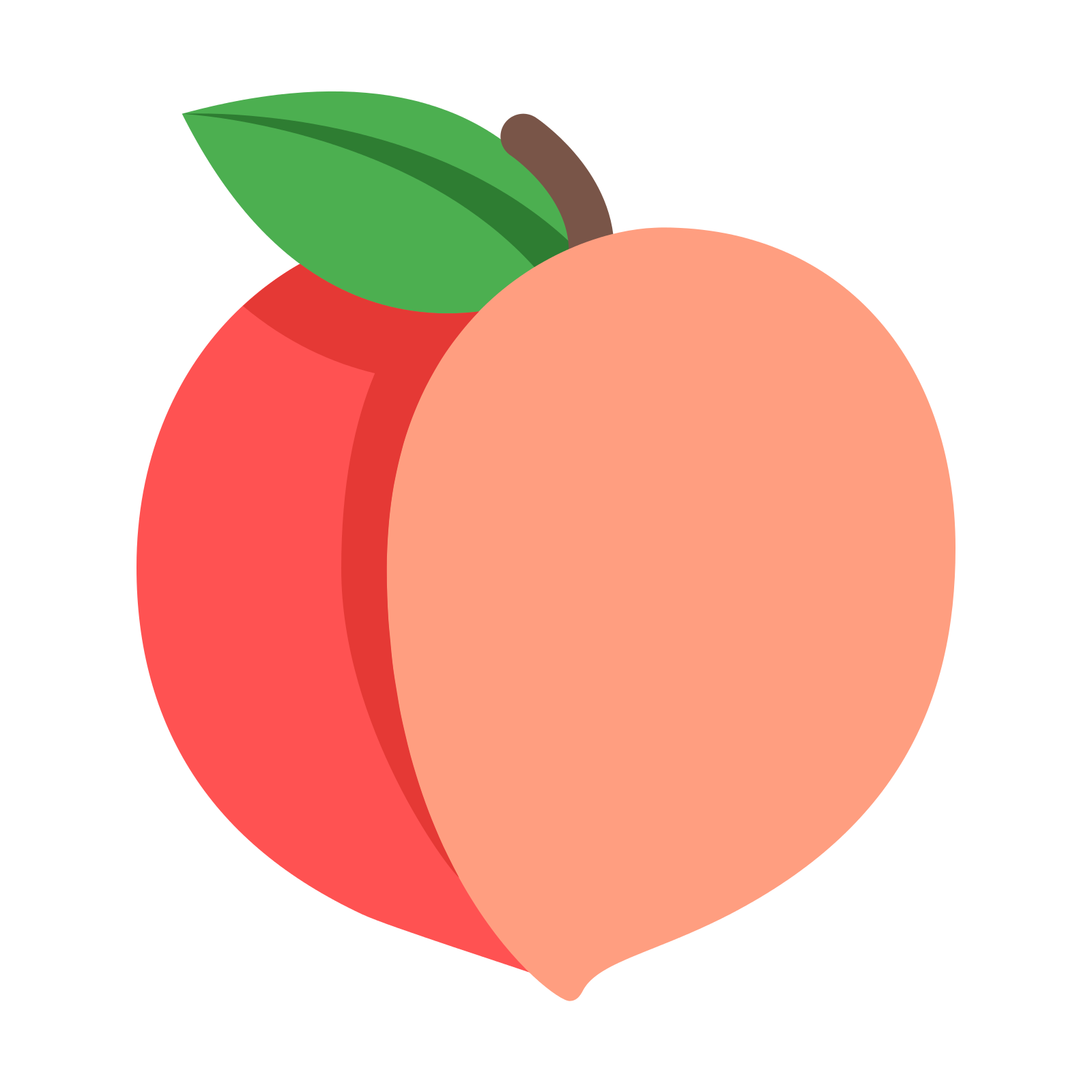 This image is of a peach. There are two reversed and connected Cu0027s that  make. PNG 50 px - Peach PNG