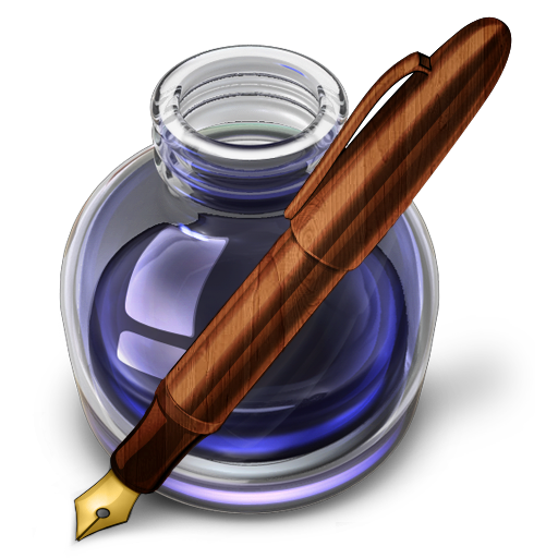Pen And Ink Bottle PNG