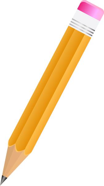 Best Pencil Clipart #4234 - Pencil HD PNG