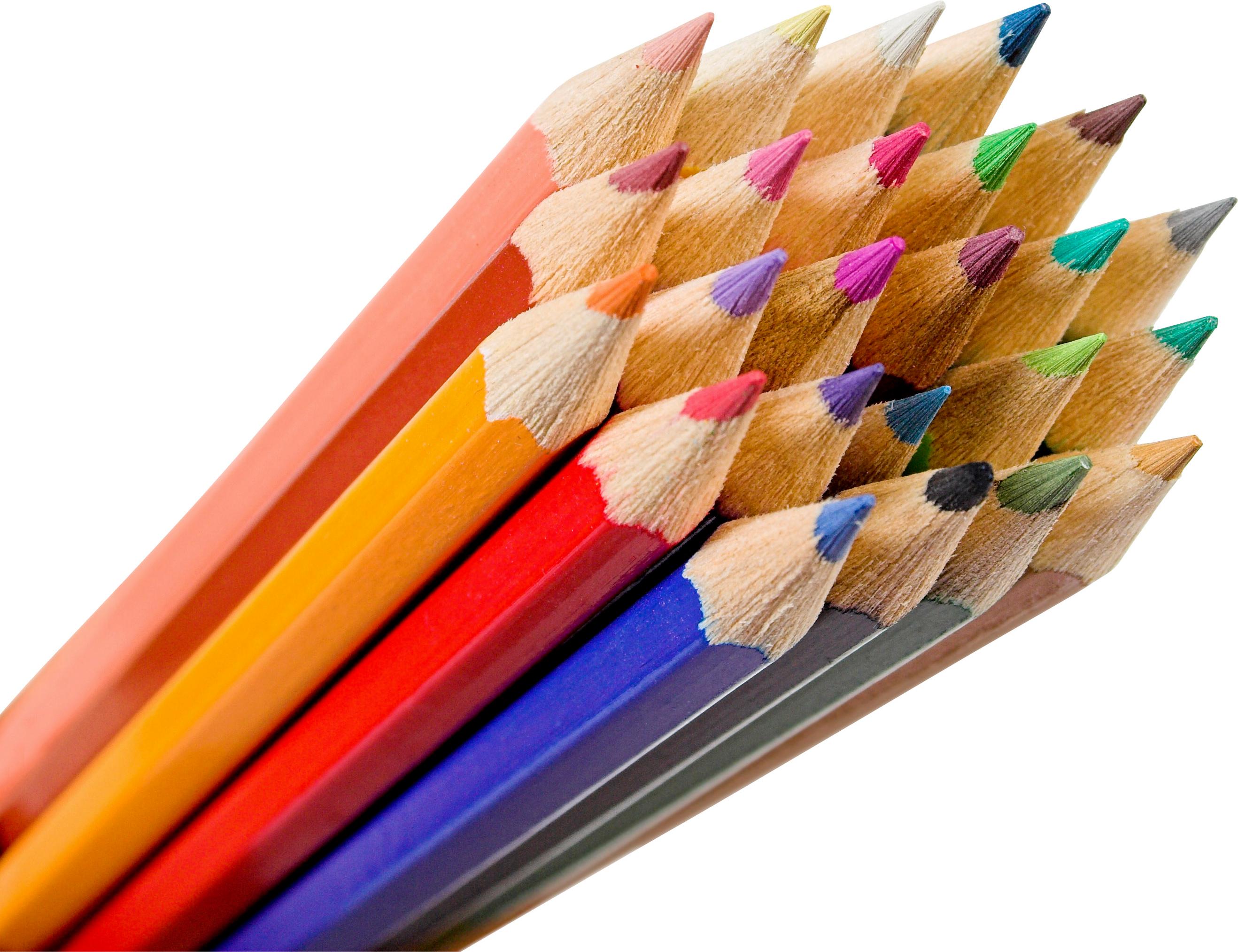 Colorful pencils PNG image - Pencil HD PNG