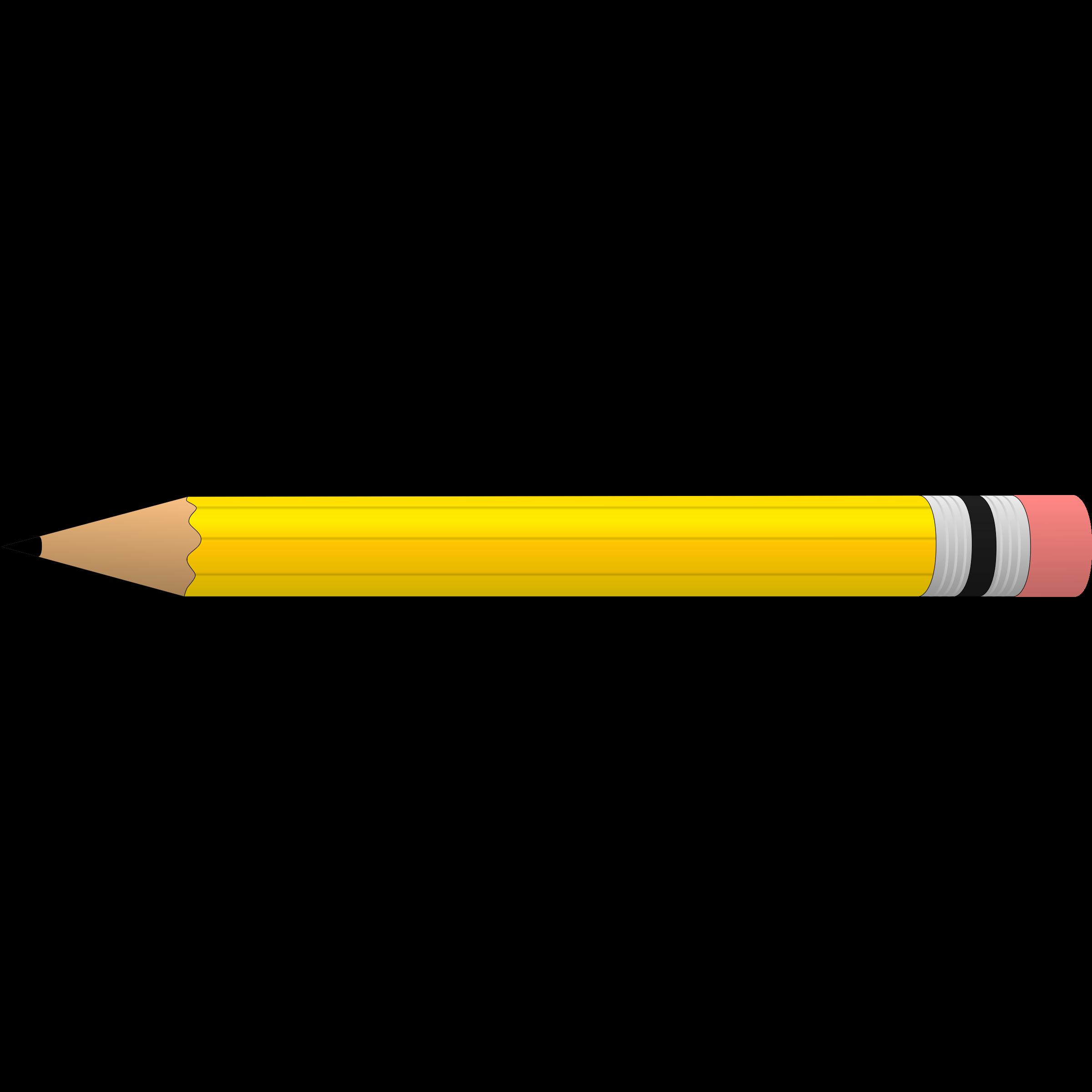 Top pencil for clip art free clipart image - Pencil HD PNG