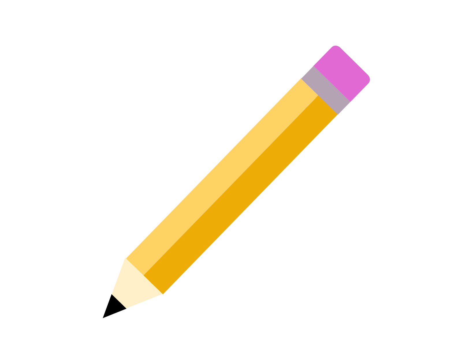 yellow-pencil-png-image-vector - Pencil PNG