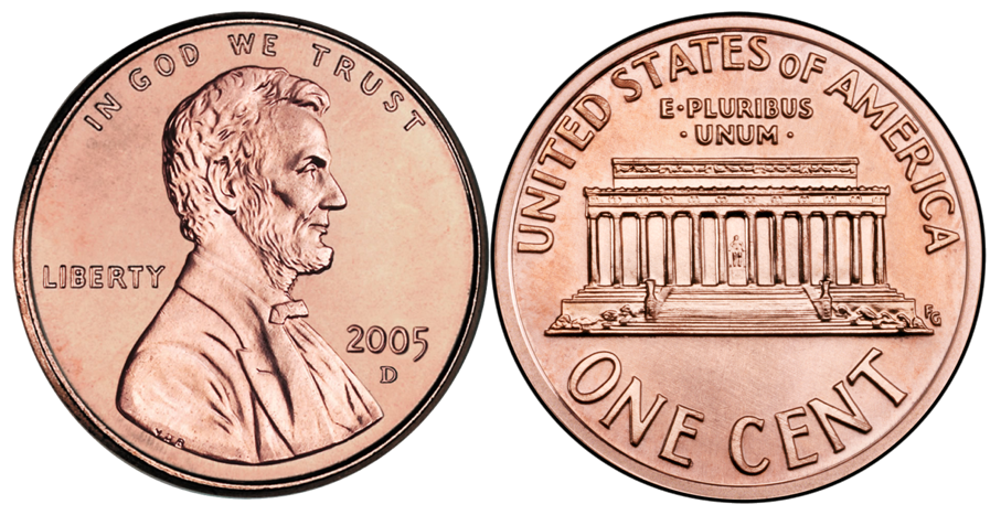Penny Front And Back PNG