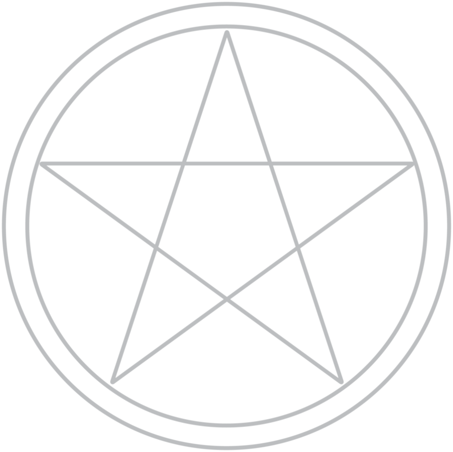 Pentacle PNG - 7065