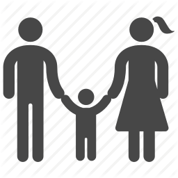 child, dad, family, father, mom, mother, people icon - People PNG Mom And Dad