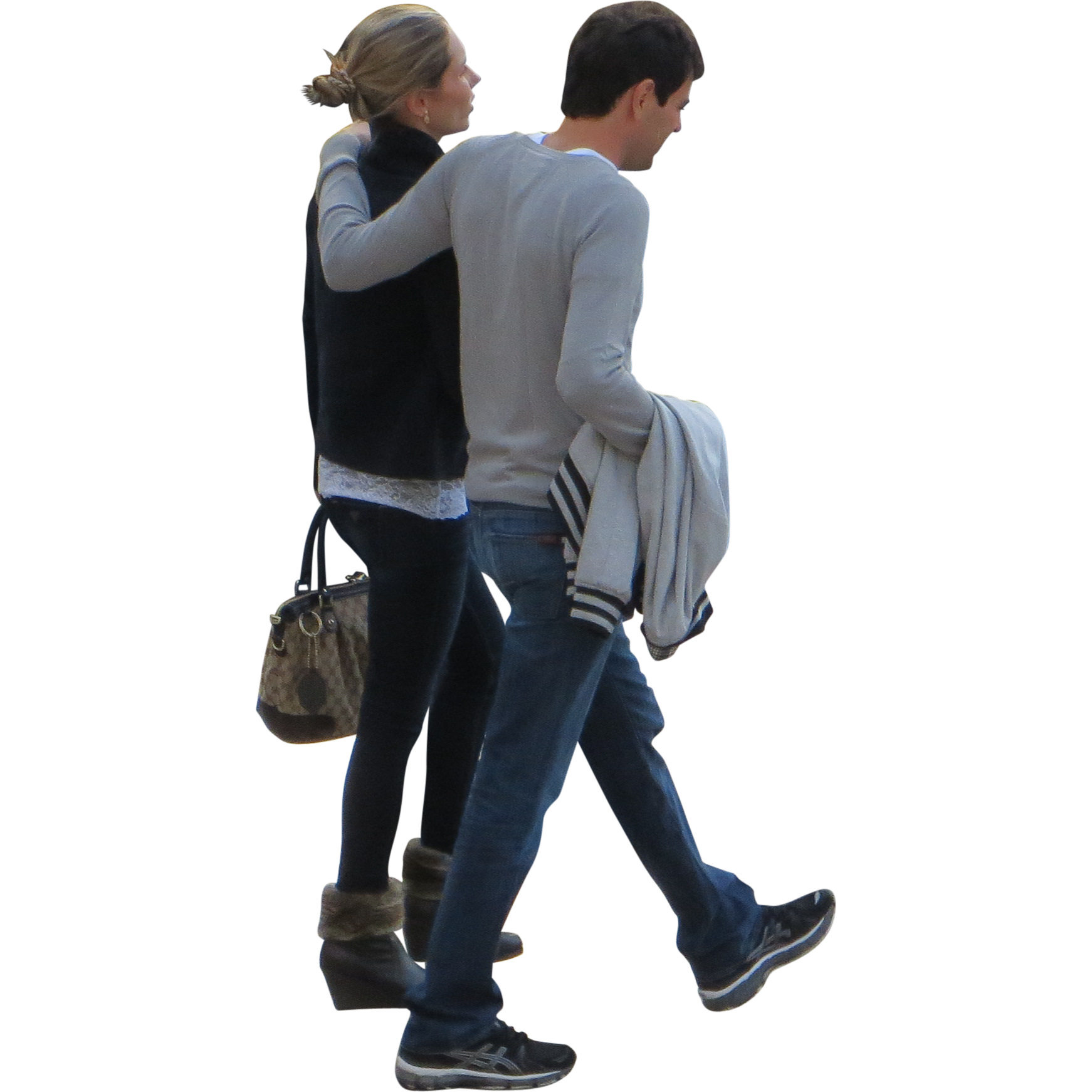 walking people png - Google S