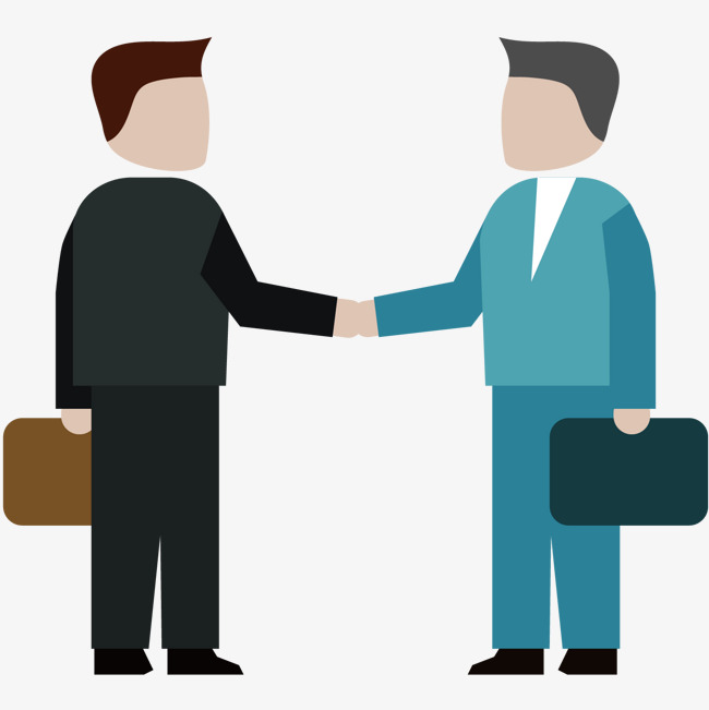 Businessman handshake, Cooperation, Shake Hands, Businessman PNG and Vector - People Shaking Hands PNG HD