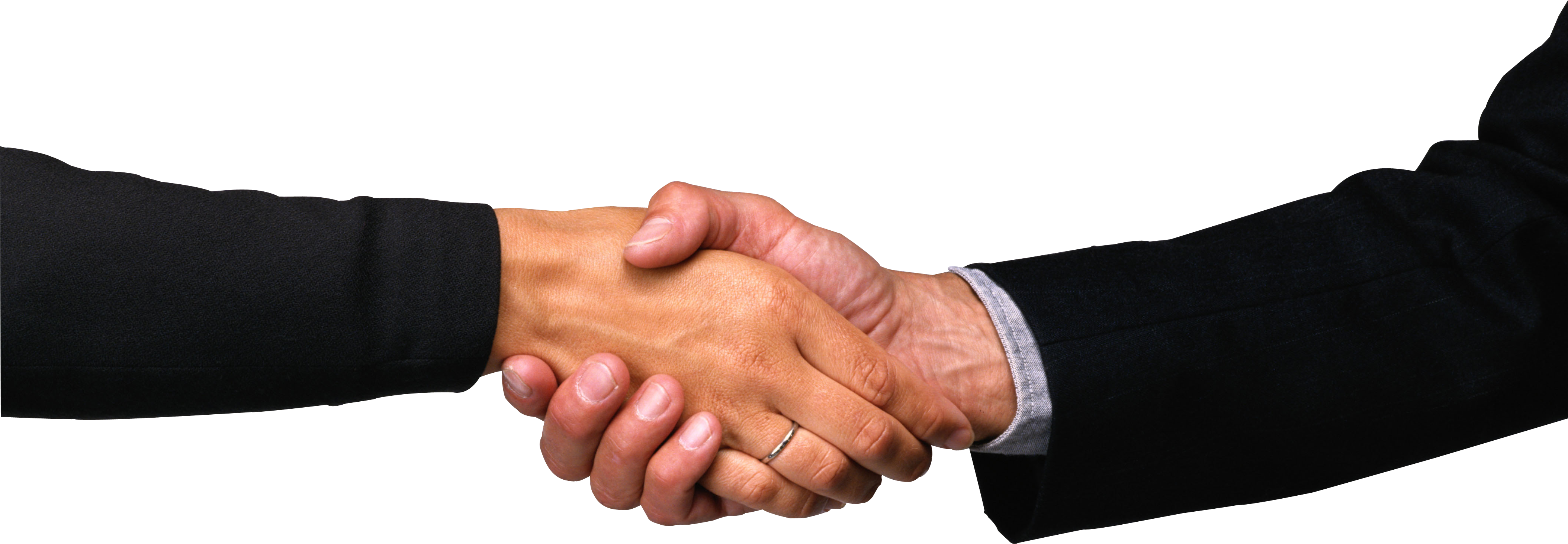 People Shaking Hands PNG HD