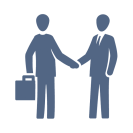 Real-Estate-Icons-People-shaking-hands.png - People Shaking Hands PNG HD