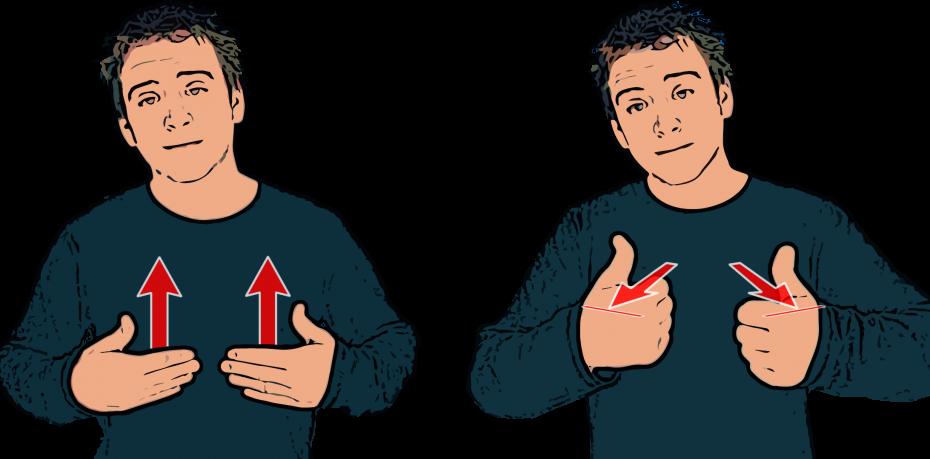 People Using Sign Language PNG - 80283