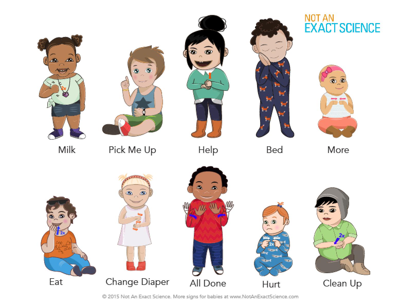 People Using Sign Language PNG - 80275