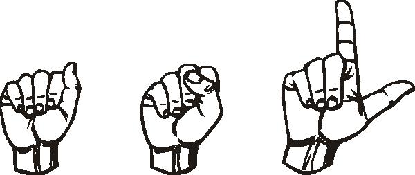 People Using Sign Language PNG - 80278
