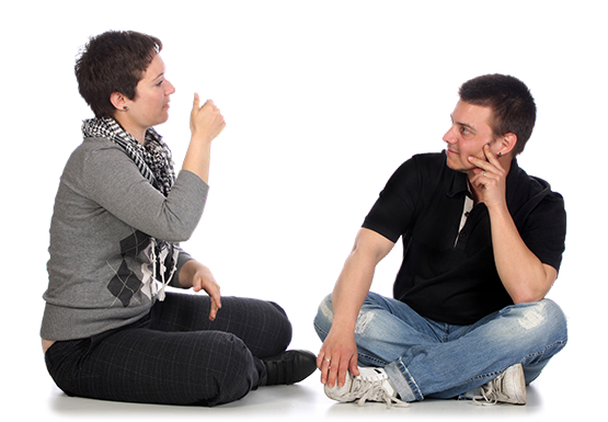 People Using Sign Language PNG - 80273