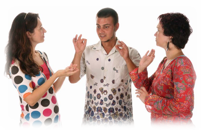 People Using Sign Language PNG - 80271