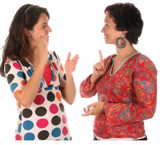 People Using Sign Language PNG - 80270