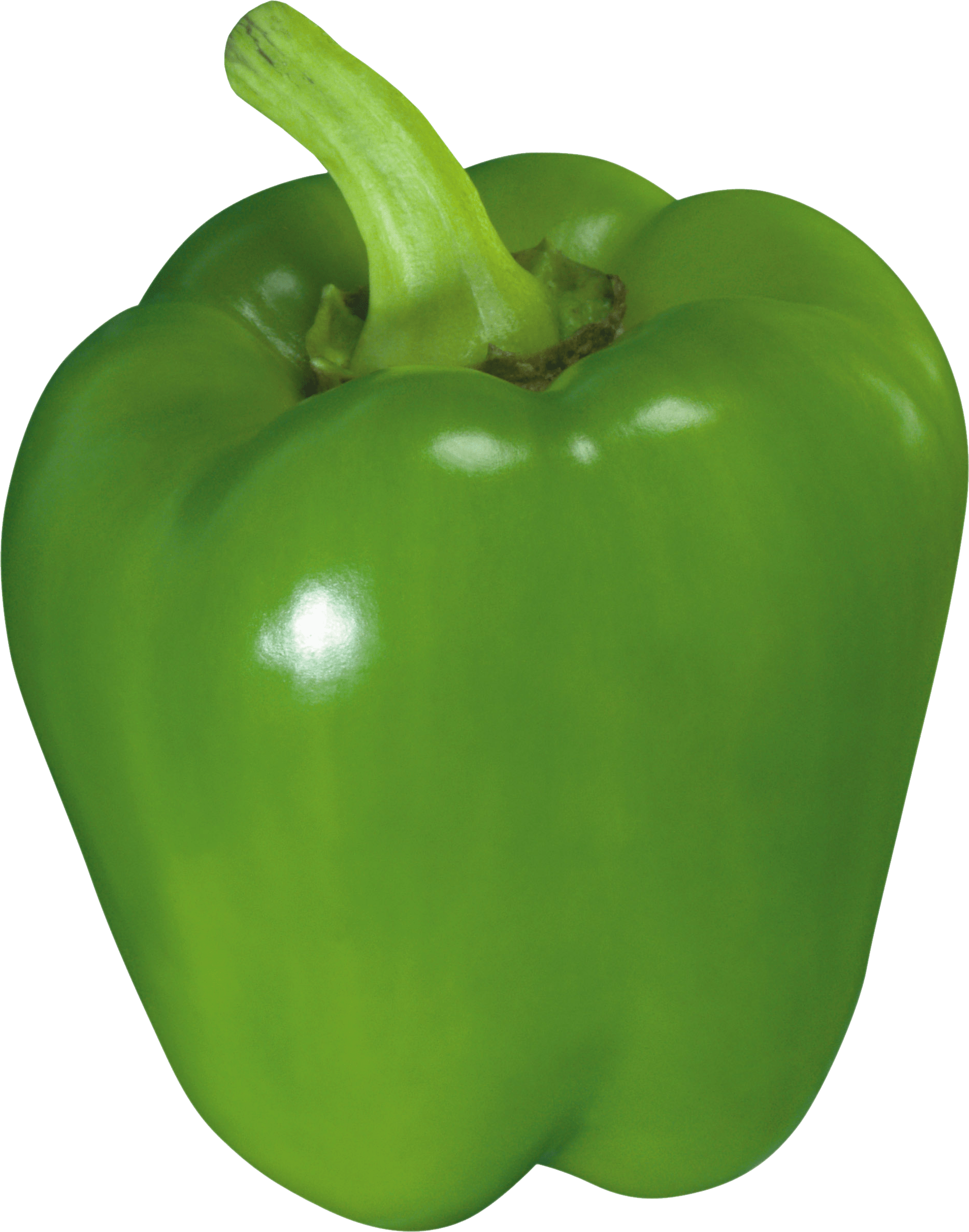 Green Bell Pepper - Pepper HD PNG