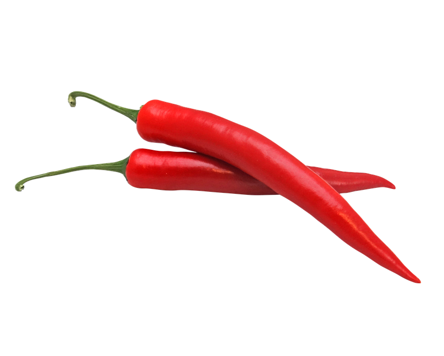 pepper red hot long long hot pepper chili - Pepper HD PNG