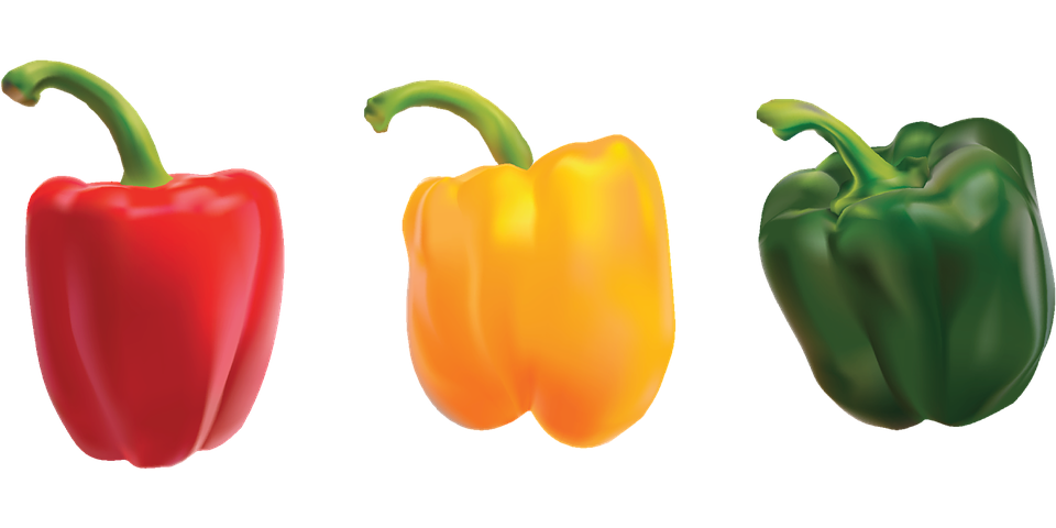 Peppers, Bell Pepper, Sweet Pepper, Vegetables - Pepper HD PNG