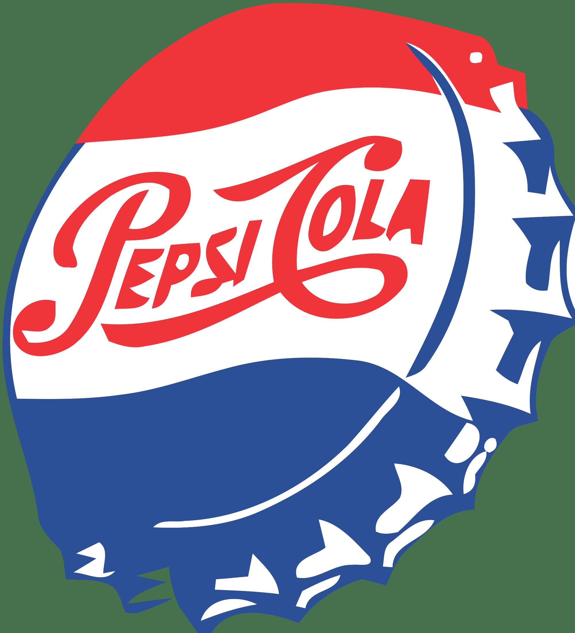 Vintage Pepsi Cap Clipart - Pepsi PNG