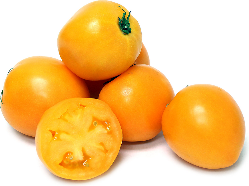 Persimmon Heirloom Tomatoes - Persimmon PNG