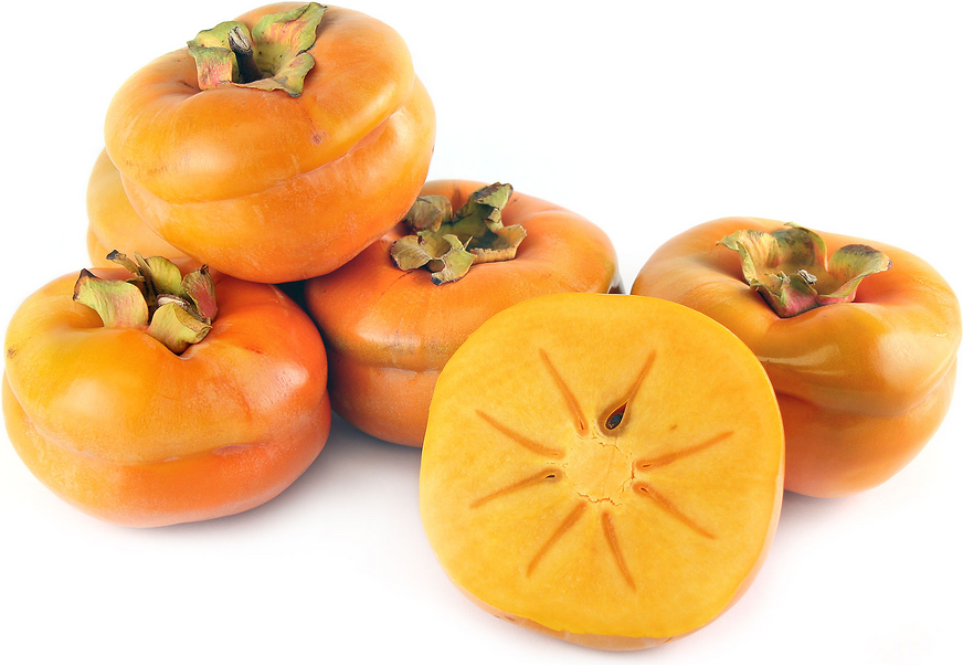 The Tamopan persimmon is a large rare acorn-shaped fruit, its horizontal  constriction around - Persimmon PNG