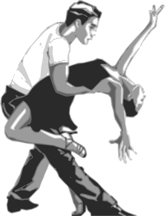 Dancers, Dancing, Couple Dancing, Pair Dancing, Tango - Dancer HD PNG - Person Dancing PNG HD