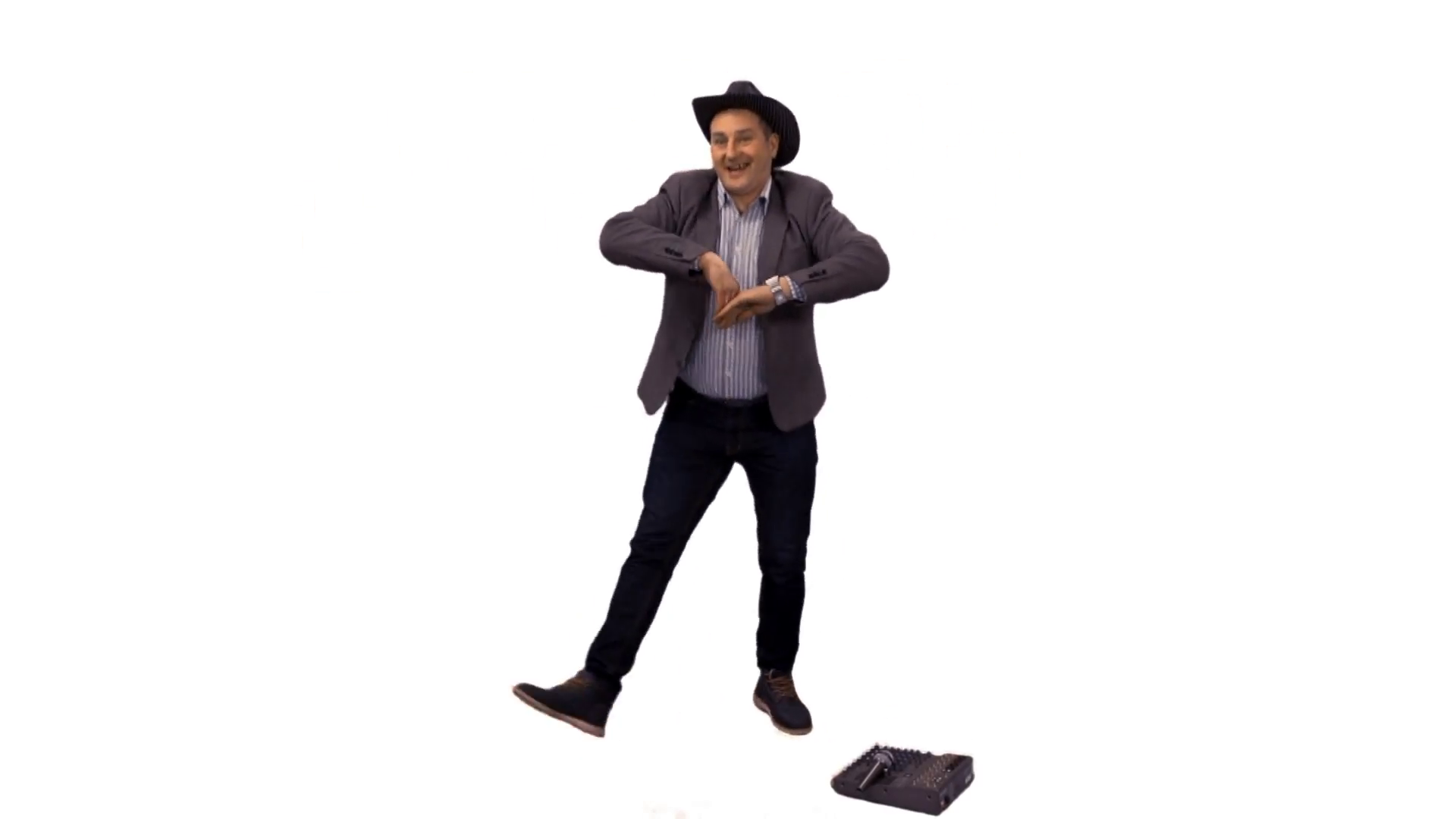 Man in a cowboy hat singing u0026 dancing. Full HD footage with alpha channel  Stock Video Footage - VideoBlocks - Person Dancing PNG HD
