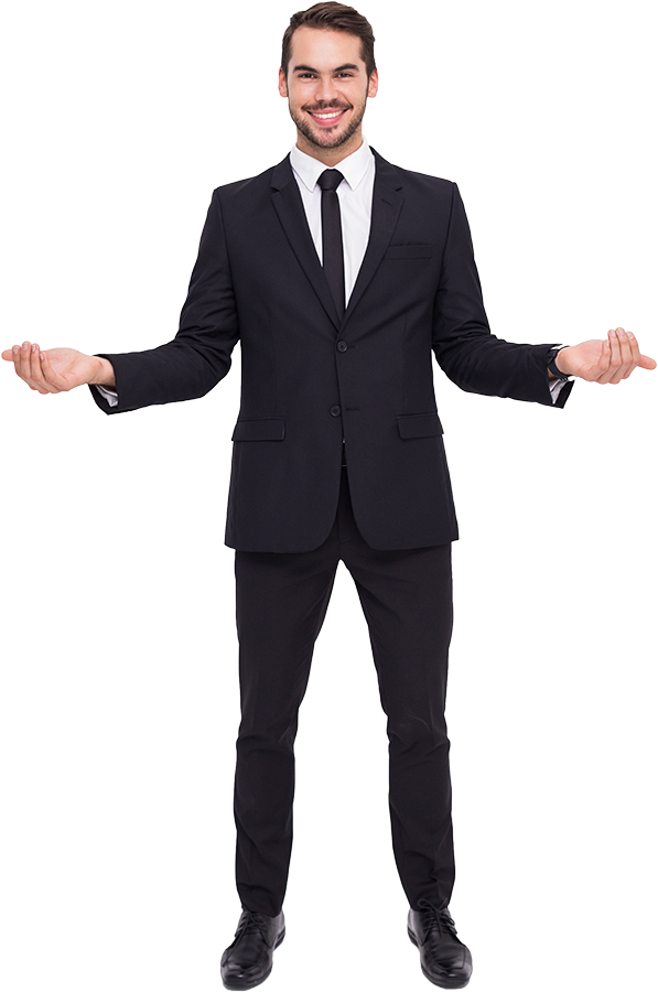 Person In A Suit PNG-PlusPNG.com-597 - Person In A Suit PNG